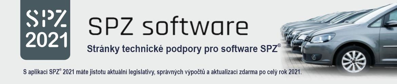 SPZ software – podpora